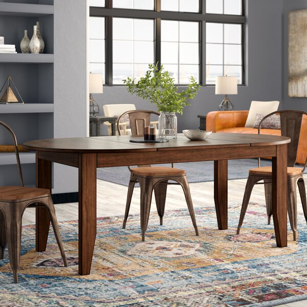 Caracara Counter Height Extendable Solid Wood Dining Table by Trent Austin Design