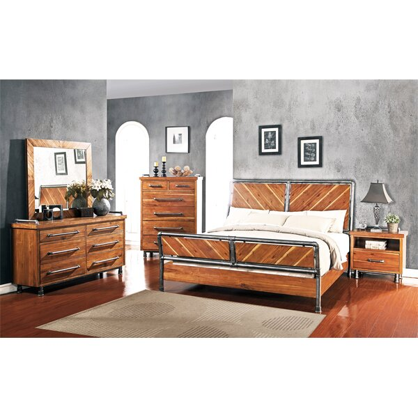 Perei Configurable Bedroom Set by 17 Stories