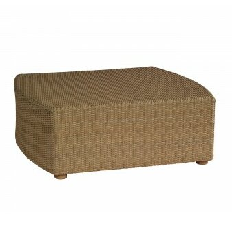 Oasis Wicker Coffee Table by Woodard
