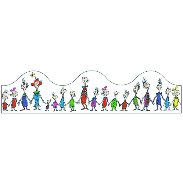 Dr Seuss Whoville Whos Trimmer Classroom Border by Eureka Classroom