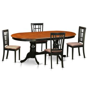 Plainville 5 Piece Dining Set by East West Furniture