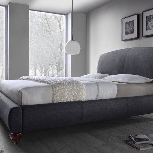 Upholstered Platform Bed by DG Casa