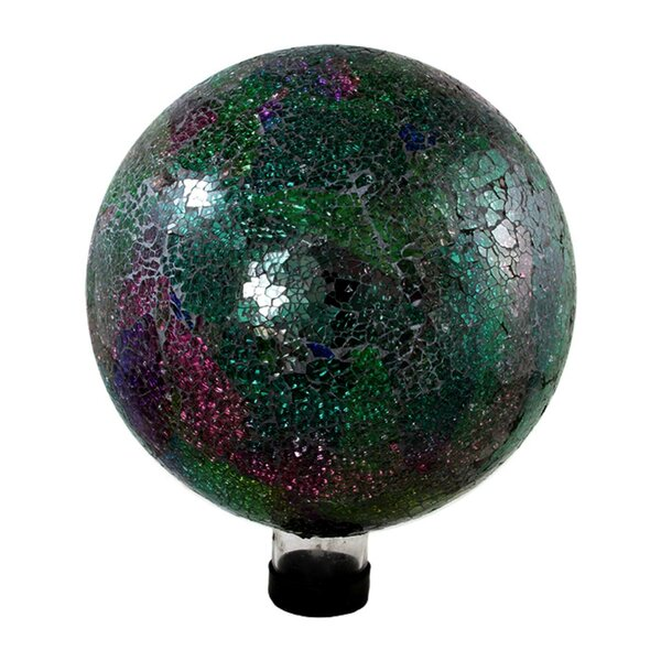 Mosaic Outdoor Patio Garden Gazing Ball by Northlight Seasonal