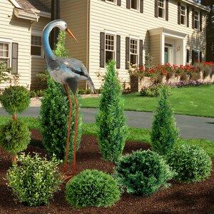 Garden Crane Statue