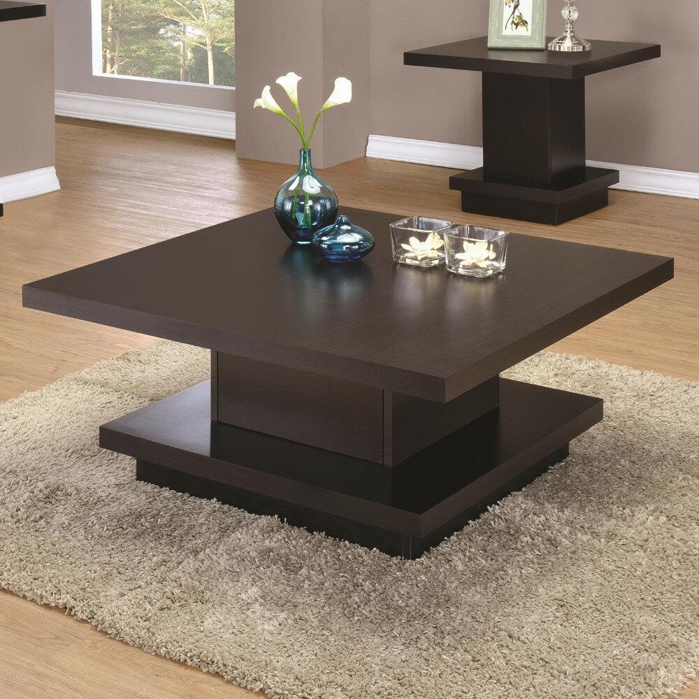 Wrought Studio Emmi Contemporary Coffee Table With Storage Reviews Wayfair