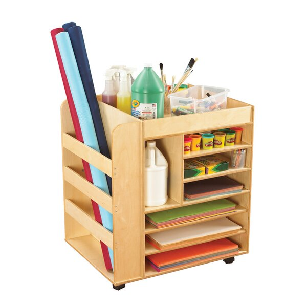 8 Compartment Teaching Cart by Childcraft
