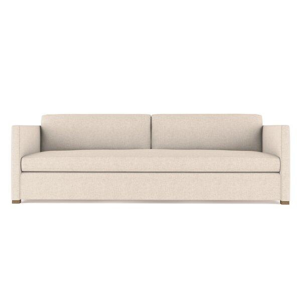 Leedom Leather Sofa by Brayden Studio