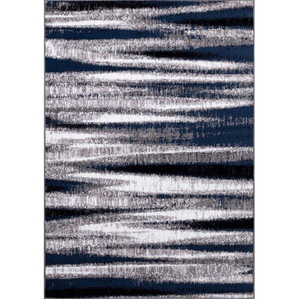Eells Gray/Navy Area Rug by Orren Ellis