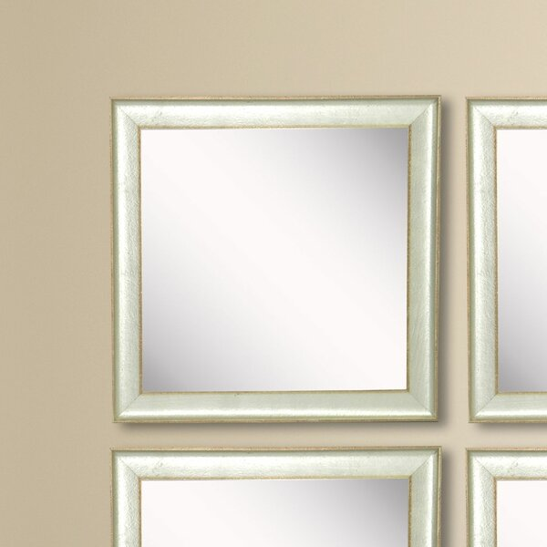 Wanner Accent Mirror (Set of 4) by Wrought Studio