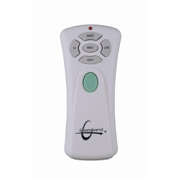 Remote Transmitter in White by Concord Fans