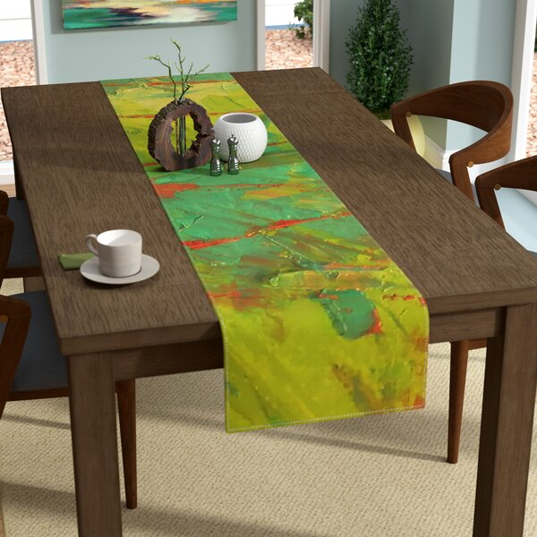 Jeff Ferst Evergreens Table Runner by East Urban Home
