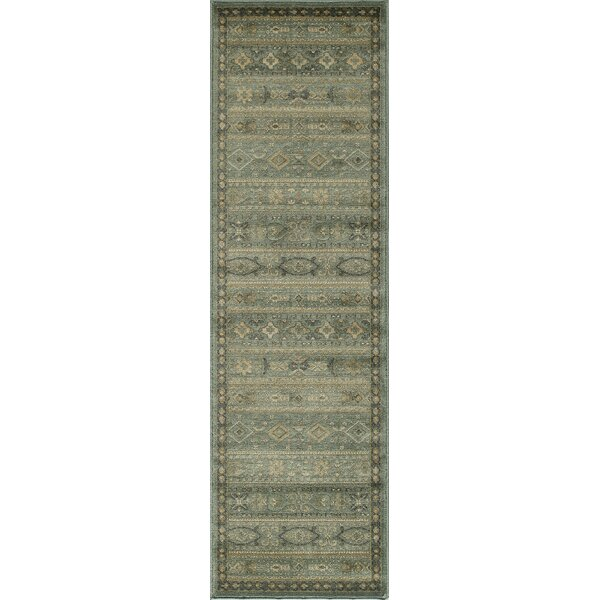 Belmont Light Blue Area Rug by Loon Peak