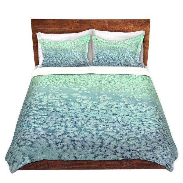 Martine Wavesong Abstract Microfiber Duvet Covers by Latitude Run