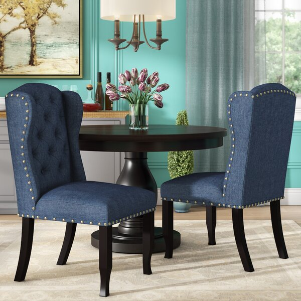 Kareem Upholstered Dining Chair (Set of 2) by Darby Home Co