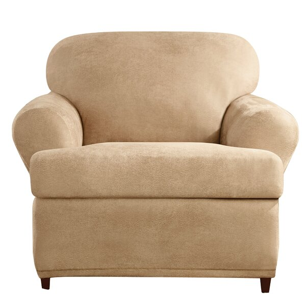 T-Cushion Armchair Slipcover by Sure Fit