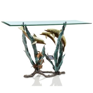 Dolphin Seaworld Console Table by SPI Home
