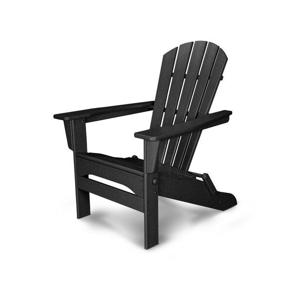 Palm Coast Plastic Folding Adirondack Chair by POLYWOOD®