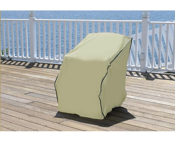 Durable Outdoor Patio Vinyl Chair Cover by LB International
