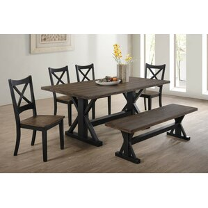 Bench Kitchen & Dining Room Sets You\'ll Love   Wayfair