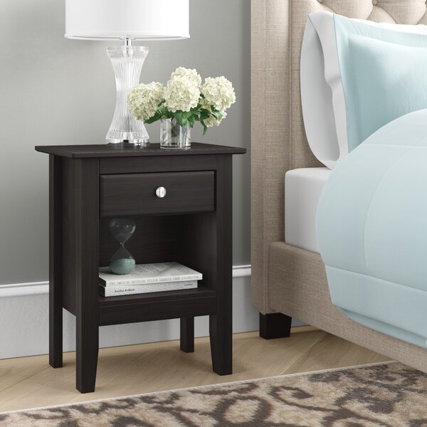 Kissell 1 Drawer Nightstand By Andover Mills