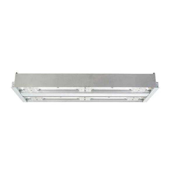 2 Bar Wide Lens LED Highbay by NICOR Lighting
