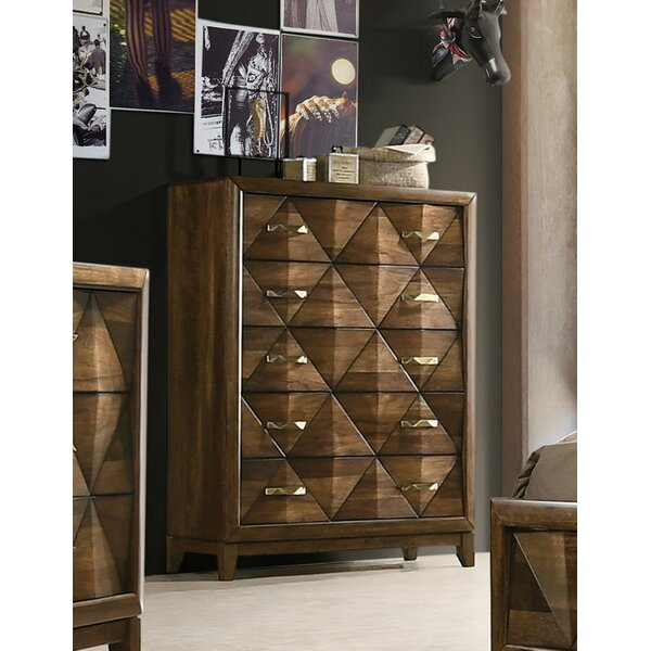 Fegan 5 Drawer Standard Chest by Brayden Studio