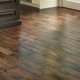 Smokehouse 4.75 Solid Oak Hardwood Flooring in Boston by Albero Valley