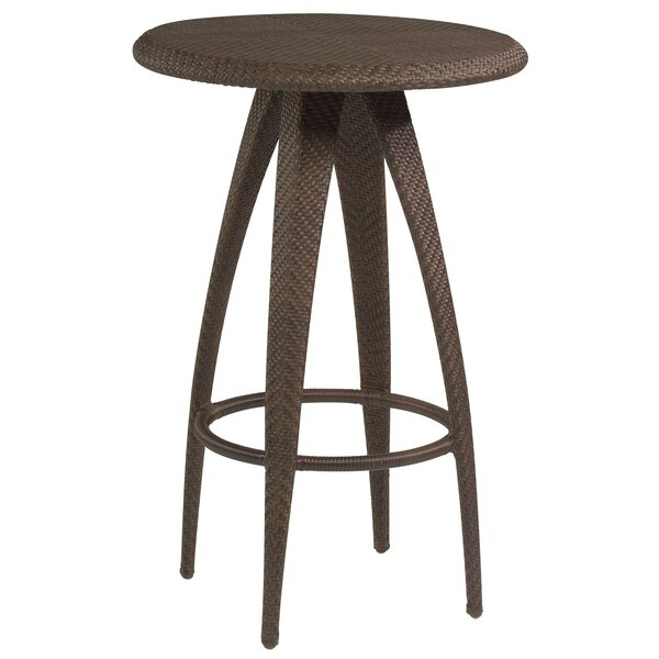 All-Weather Wicker Bar Table By Woodard by Woodard 2020 Sale