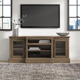 """Lodge Solid Wood TV Stand for TVs up to 85"""""""