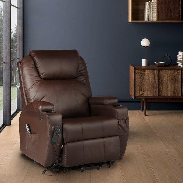Power Reclining Heated Full Body Massage Chair W003263431