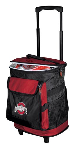 Collegiate Rolling Cooler - Ohio State by Logo Brands