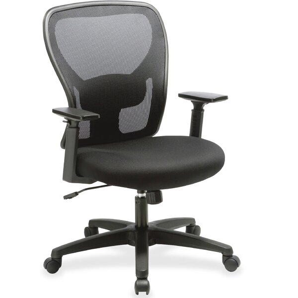Mid-Back Mesh Desk Chair by Lorell