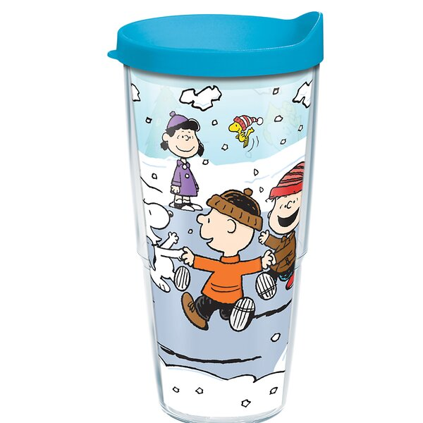 Peanuts Christmas 24 oz. Plastic Travel Tumbler by Tervis Tumbler