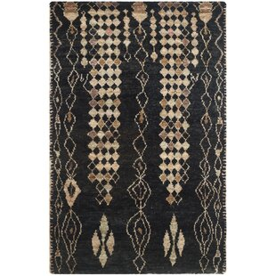 Great choice Pinehurst Black/Beige Area Rug By Bungalow Rose