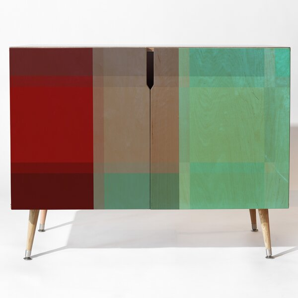 Tartan Accent Cabinet by East Urban Home East Urban Home