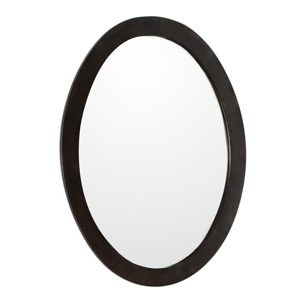 Oval Framed Bathroom/Vanity Wall Mirror by Bellaterra Home