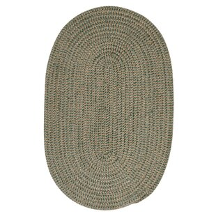 Hale Myrtle Green Check Indoor/Outdoor Area Rug By Winston Porter