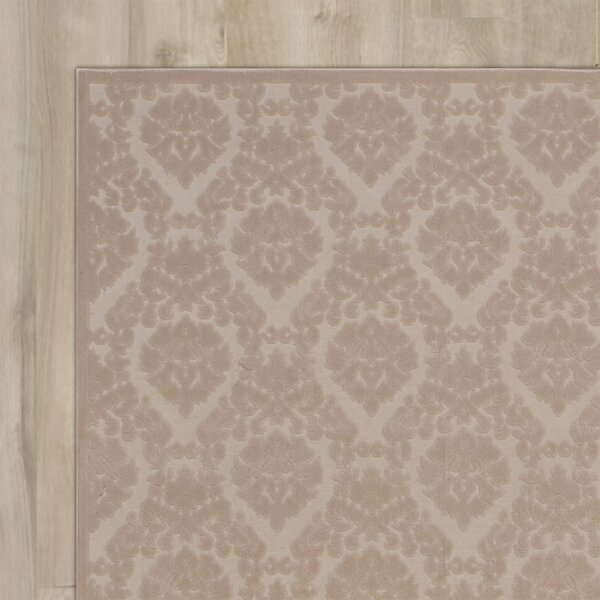 Weissport Ivory/Sand Area Rug by Three Posts
