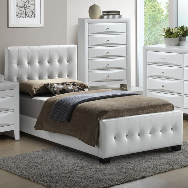 Max Upholstered Standard Bed by Glory Furniture