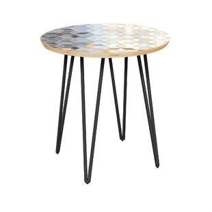 Priestly End Table by Bungalow Rose