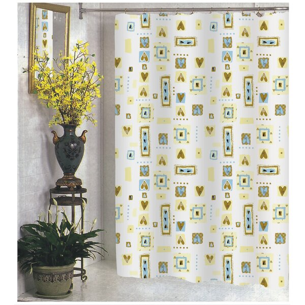Patty Shower Curtain by Carnation Home Fashions