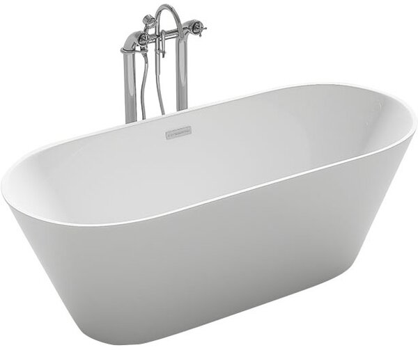 Lugano 59.1 x 29.5 Freestanding Soaking Bathtub by Kokss