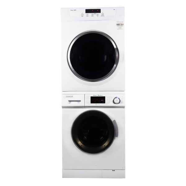 1.56 cu. ft. Washer and 3.5 cu. ft. Electric Dryer Laundry Center by Equator