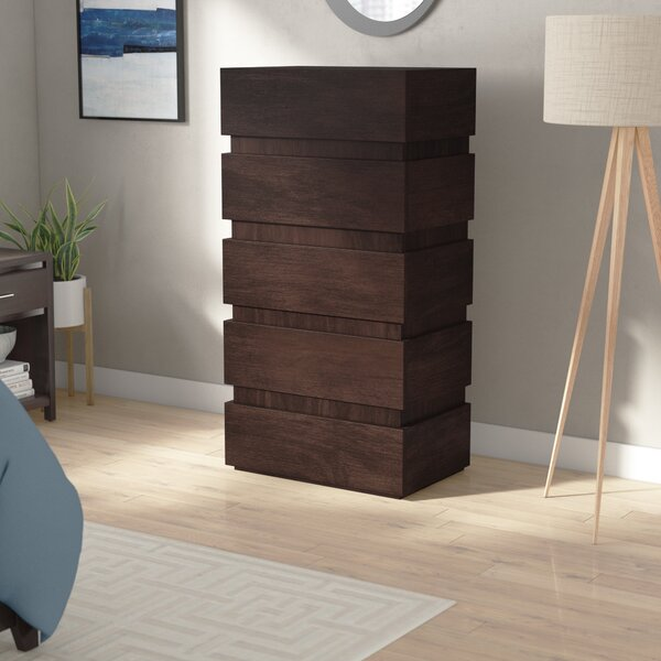 Godin 5 Drawer Chest by Brayden Studio