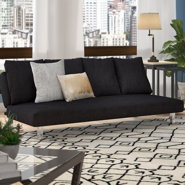 Stonewood Futon and Mattress by Ebern Designs