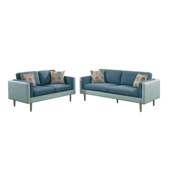 Exeter 2 Piece Living Room Set by Ivy Bronx