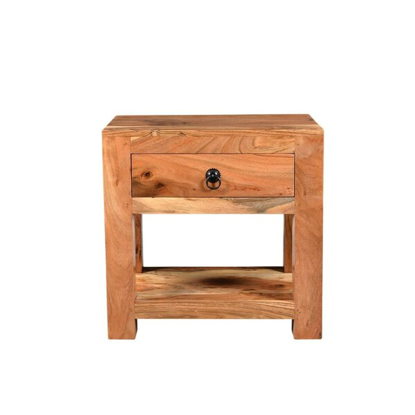 Tallulah Sheesham End Table By Millwood Pines