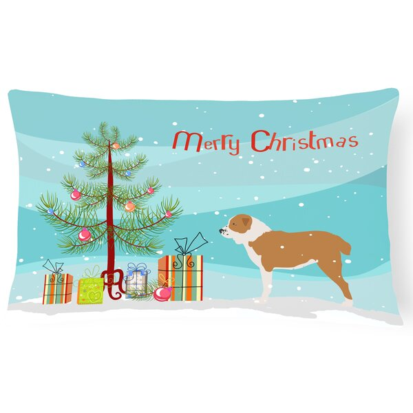 Central Asian Shepherd Dog Indoor/Outdoor Lumbar Pillow by The Holiday Aisle