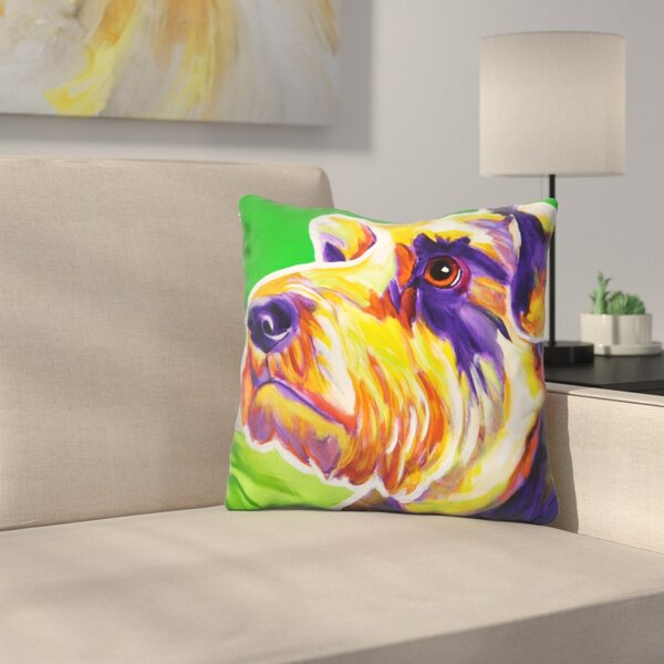 Elroy Throw Pillow by East Urban Home