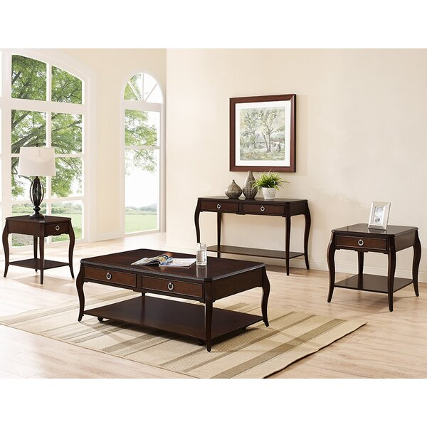 Pack 4 Piece Coffee Table Set by Canora Grey